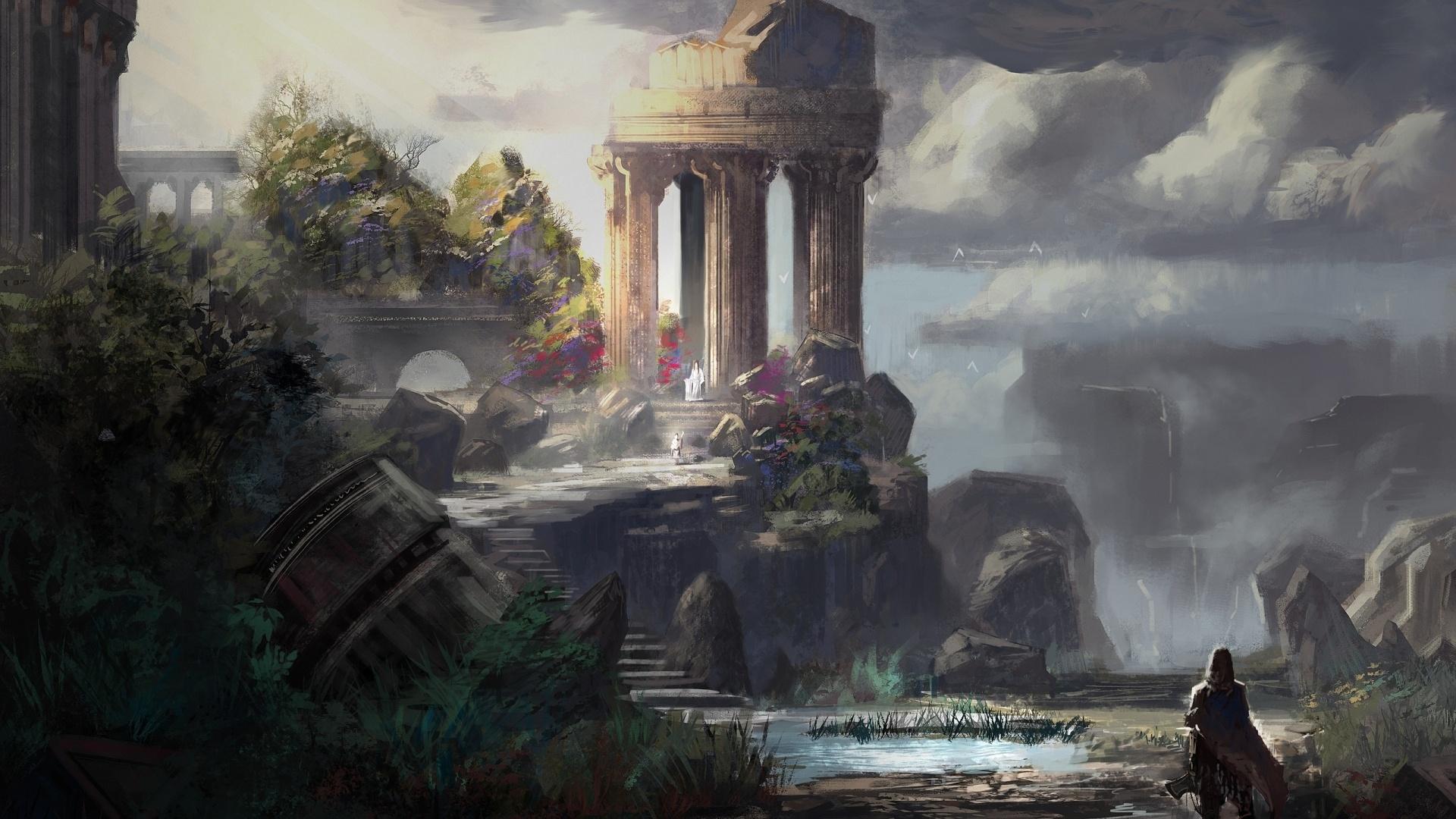 Ruins Art best wallpaper