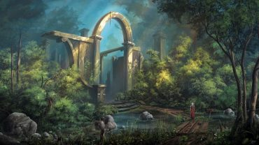 Ruins Art free picture