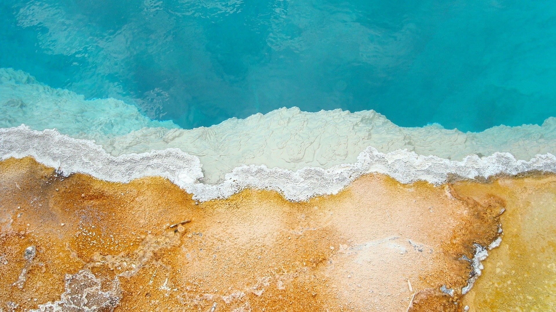 Sea and Sand From Above best background