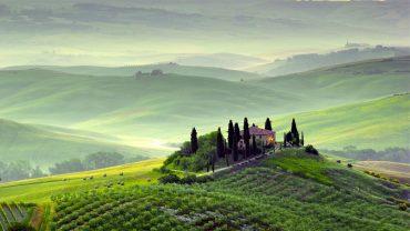 Tuscany background wallpaper