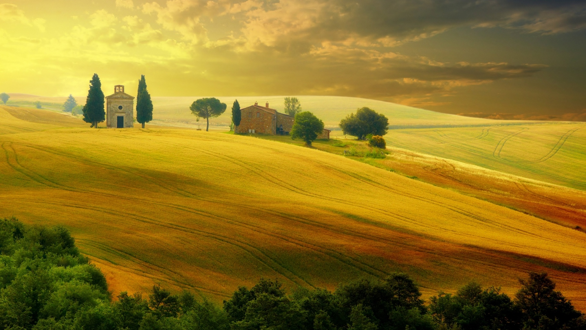 Tuscany cool wallpaper