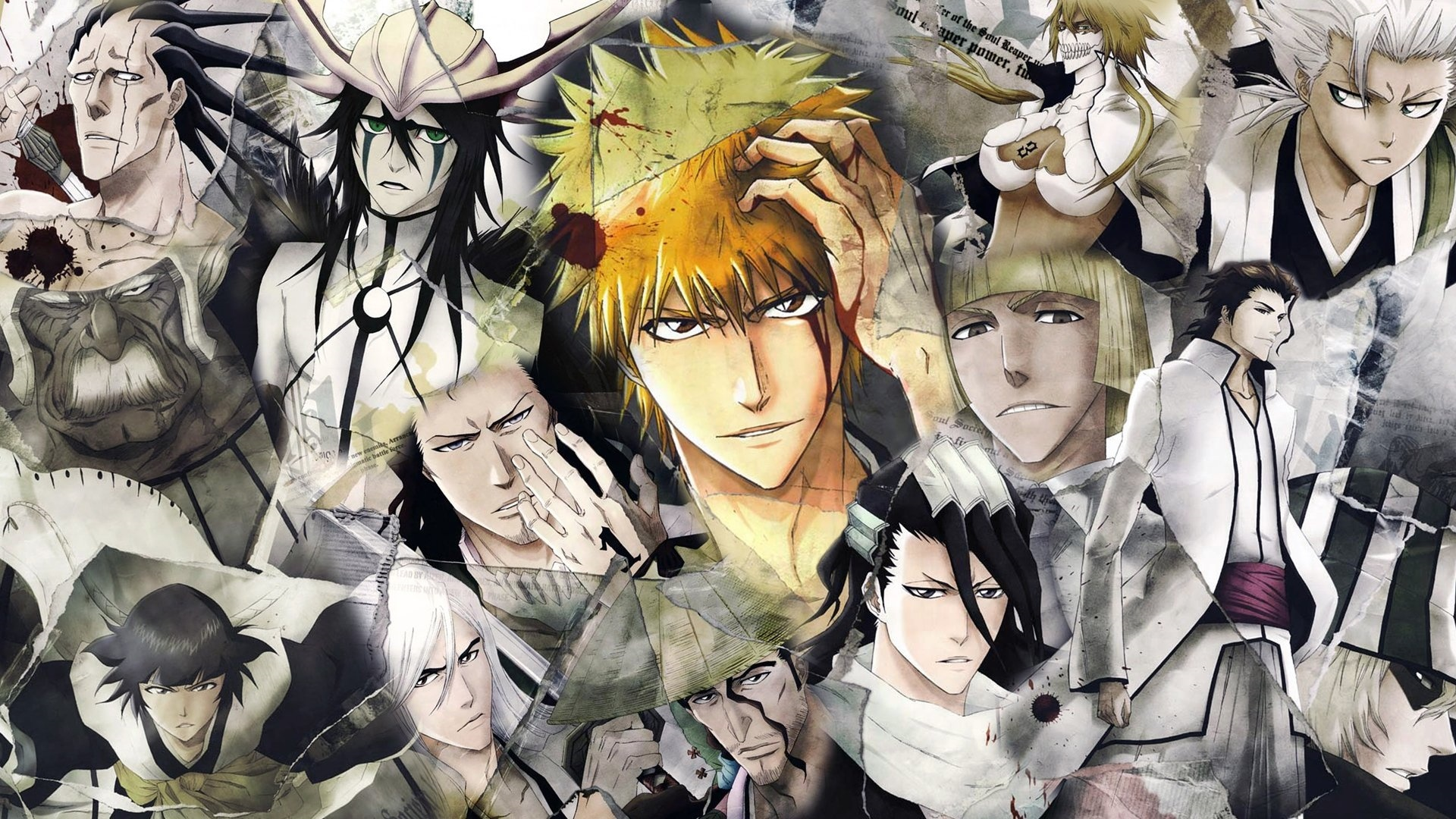 Bleach computer background