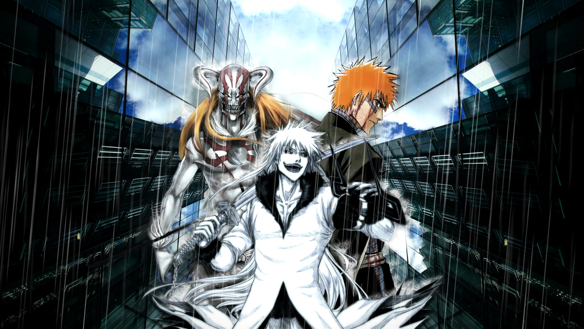 Bleach cool background