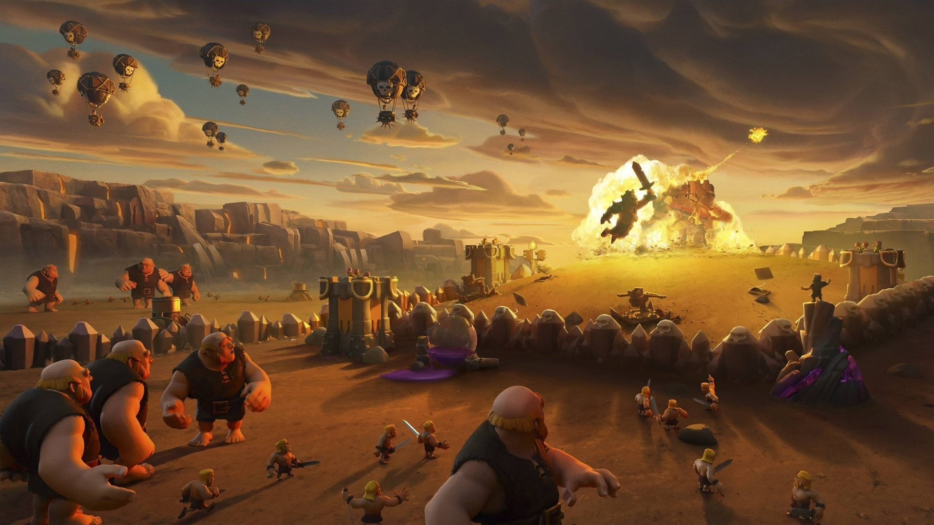 Clash Of Clans free background