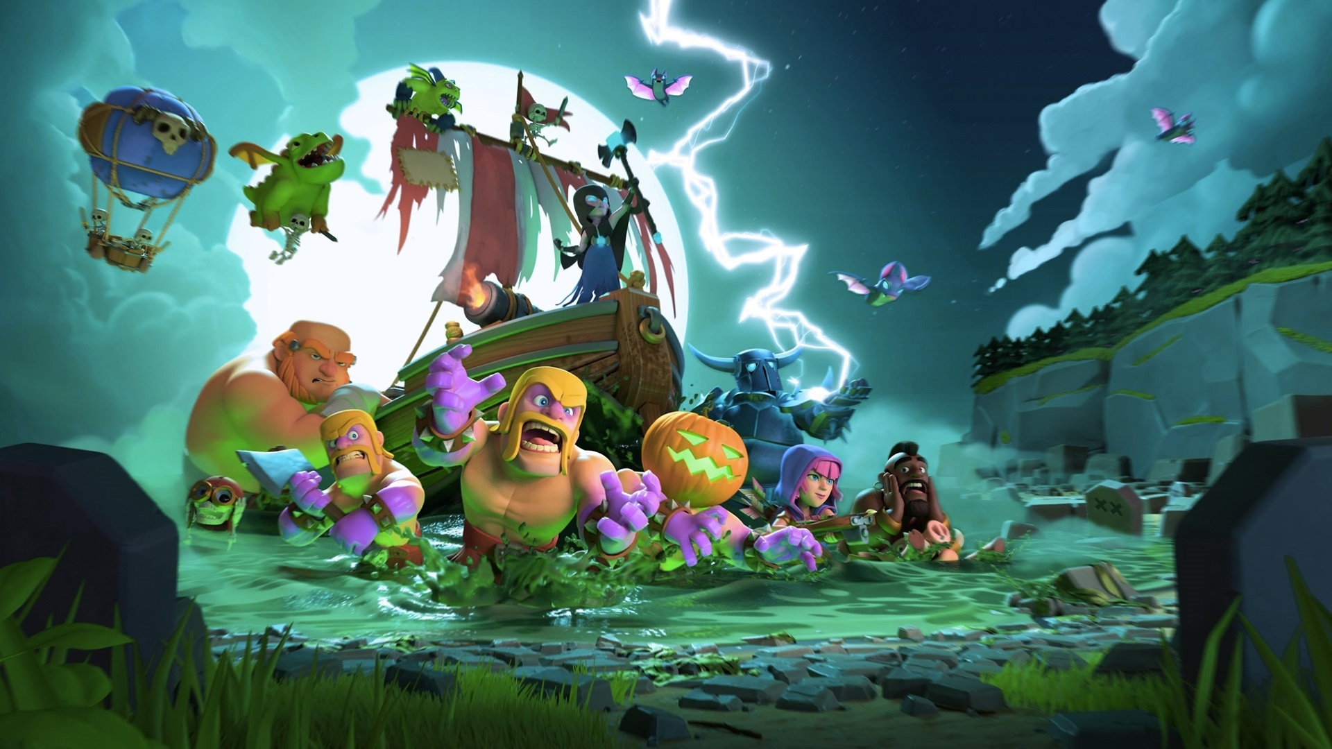Clash Of Clans desktop wallpaper free download