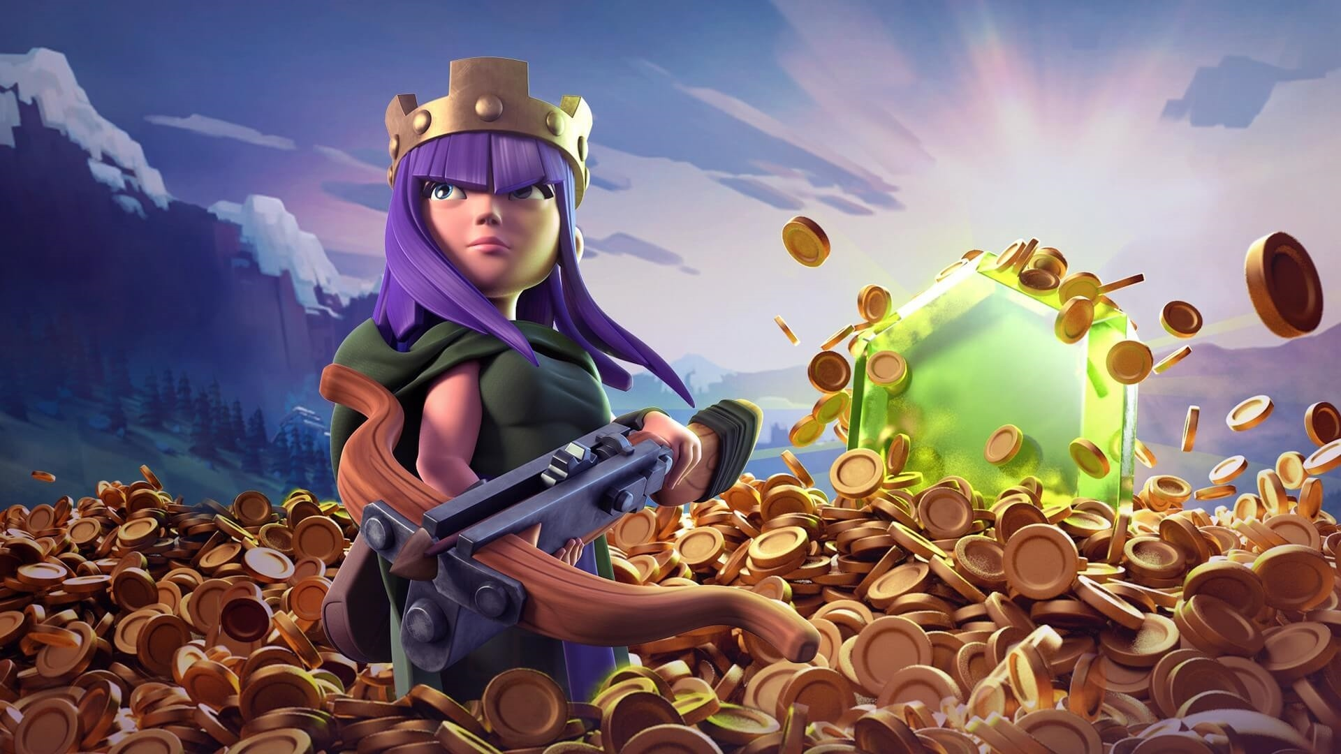 Clash Of Clans free wallpaper