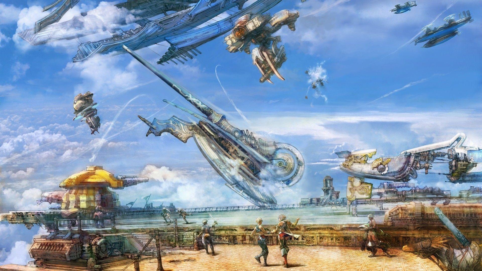 Final Fantasy free wallpaper
