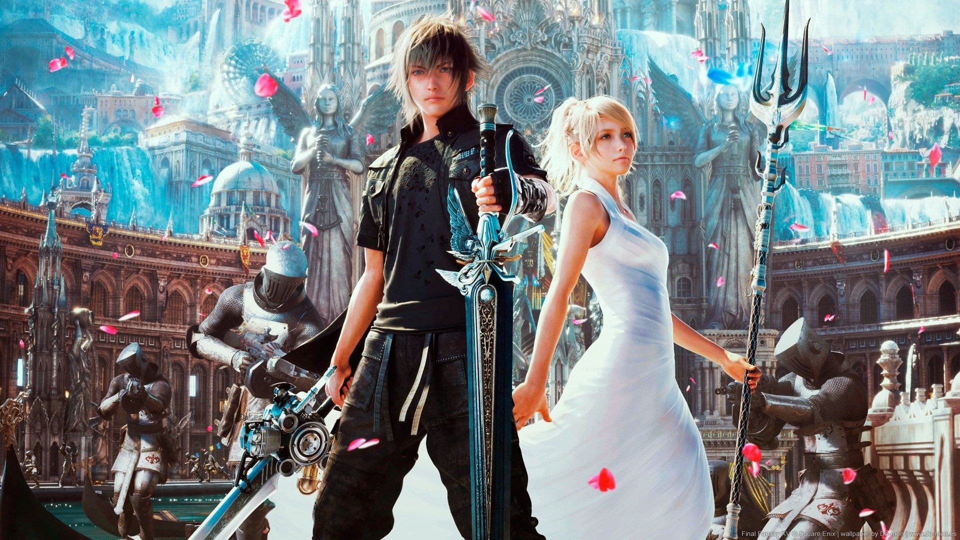 98 Final Fantasy Xv HD Wallpapers | Background Images Wallpaper Abyss hd background