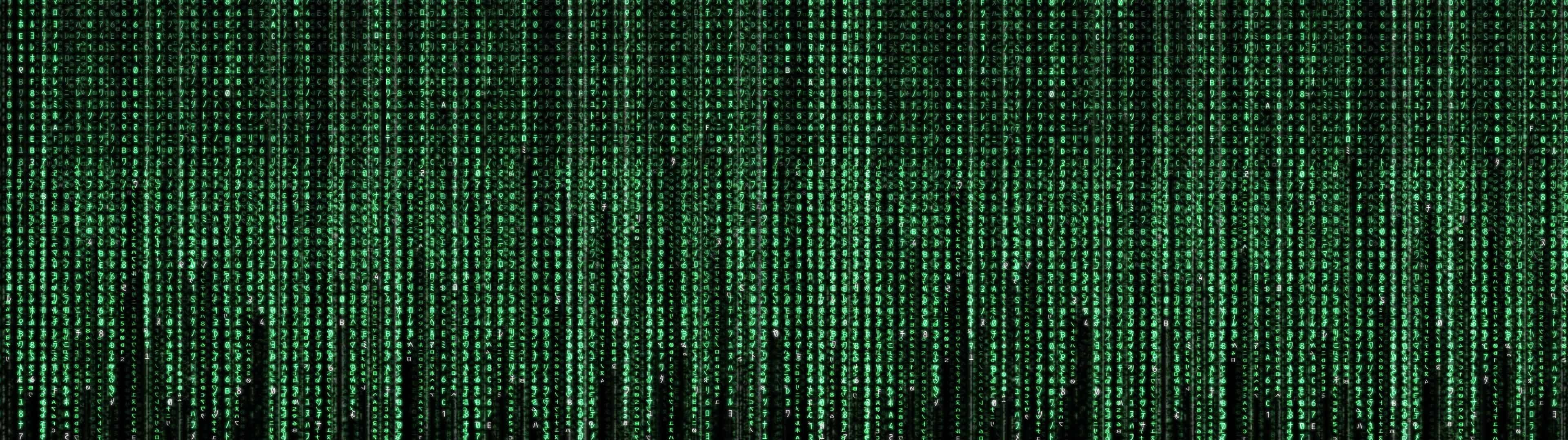 The Matrix Code Dual Monitor Wallpaper Pixelz.jpg desktop wallpaper free download