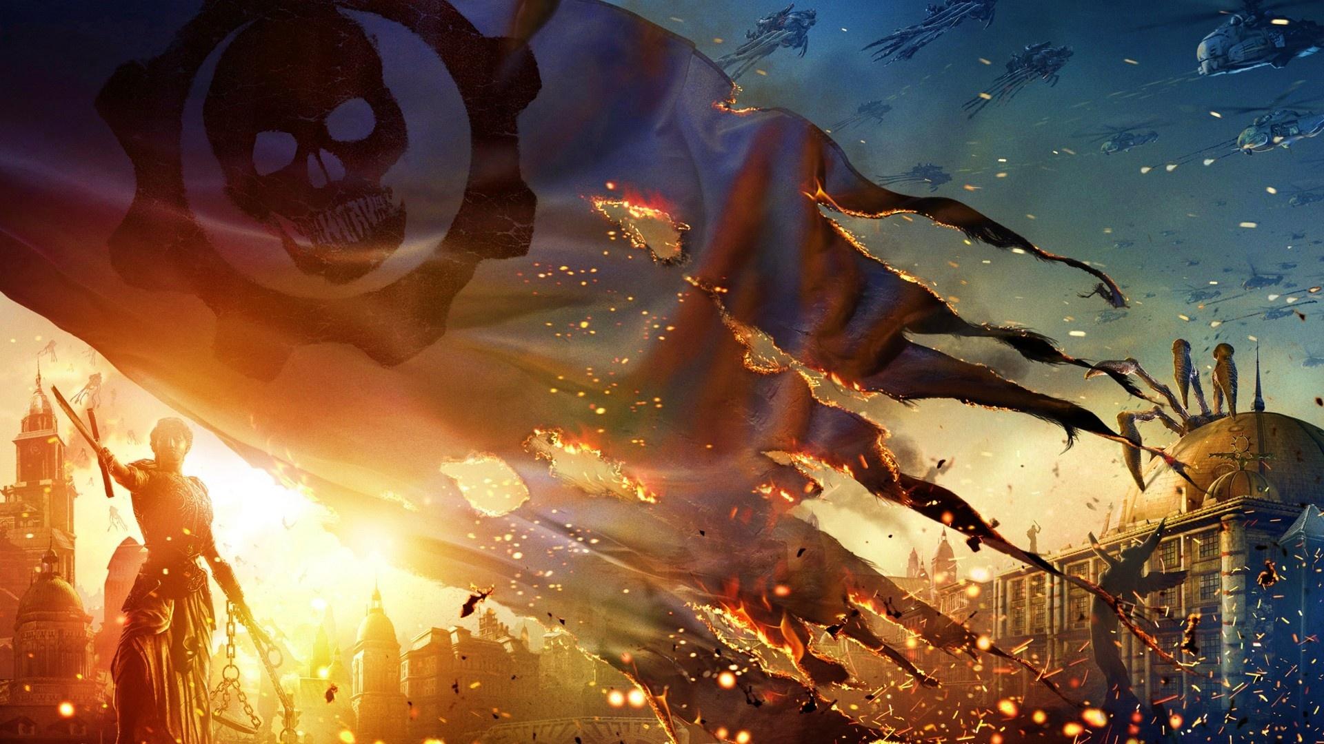 Gears Of War 1080p wallpaper