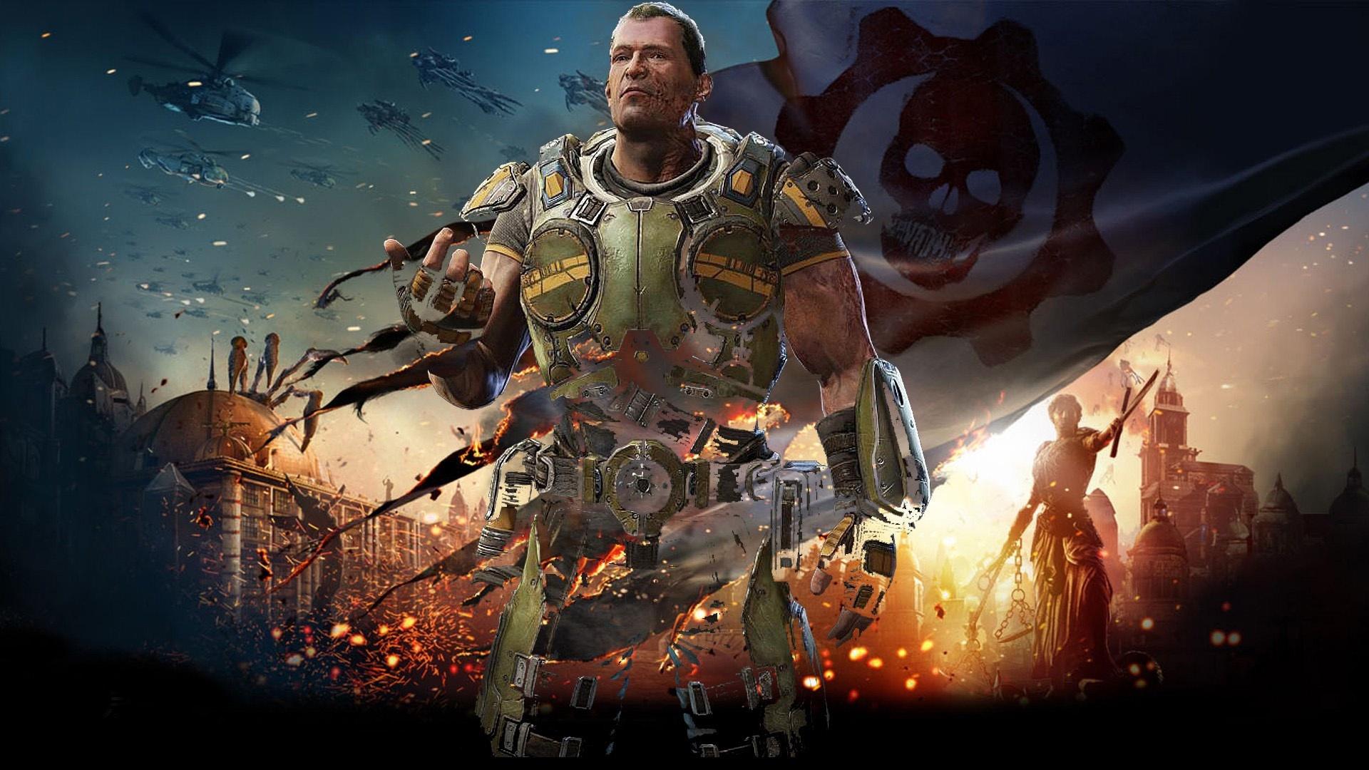 Gears Of War free background
