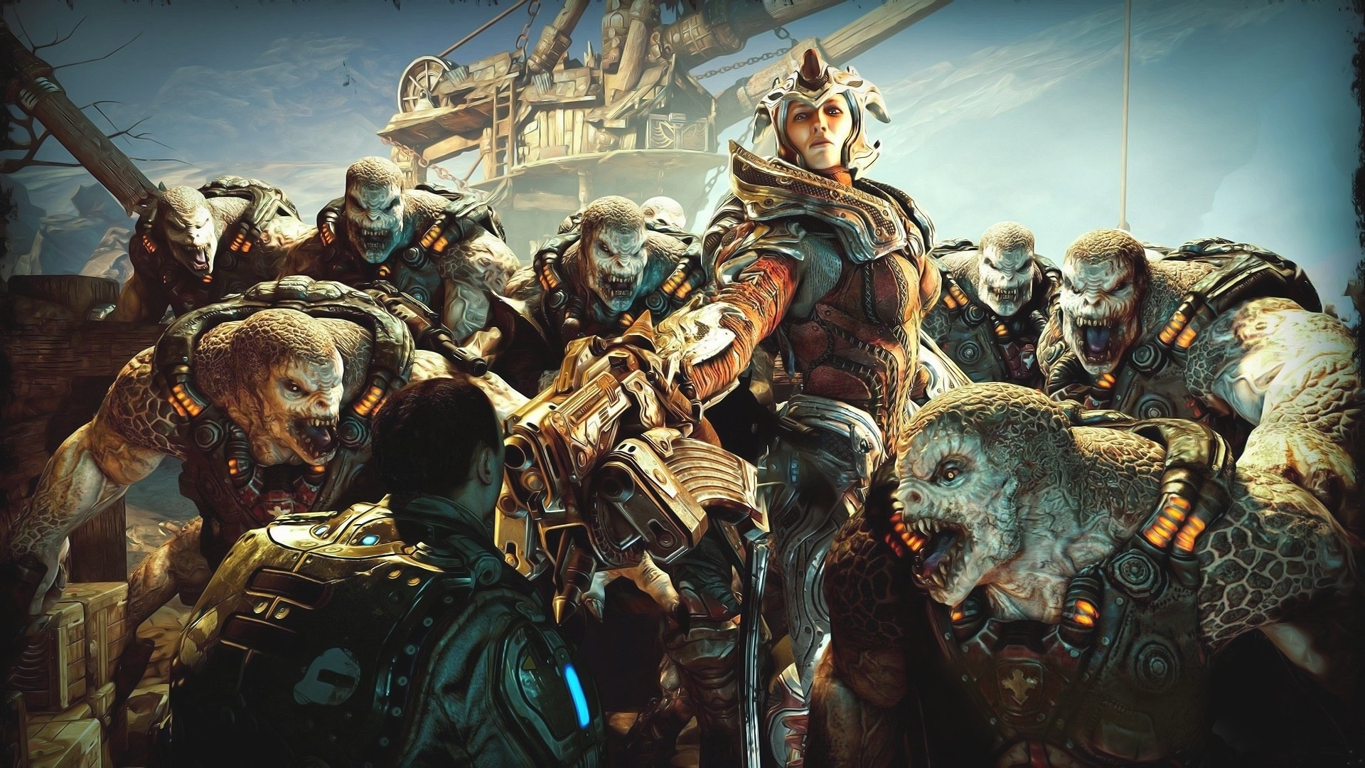 Gears Of War desktop background