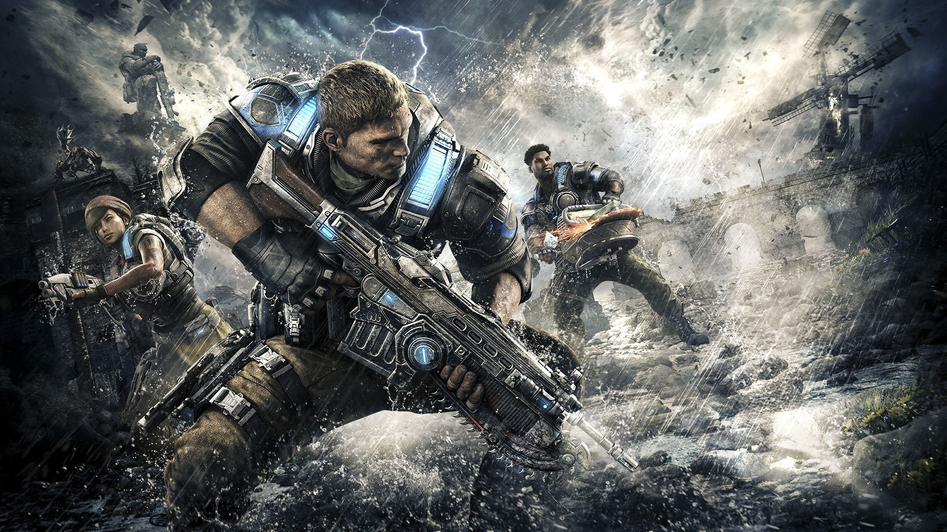 Gears Of War cool background