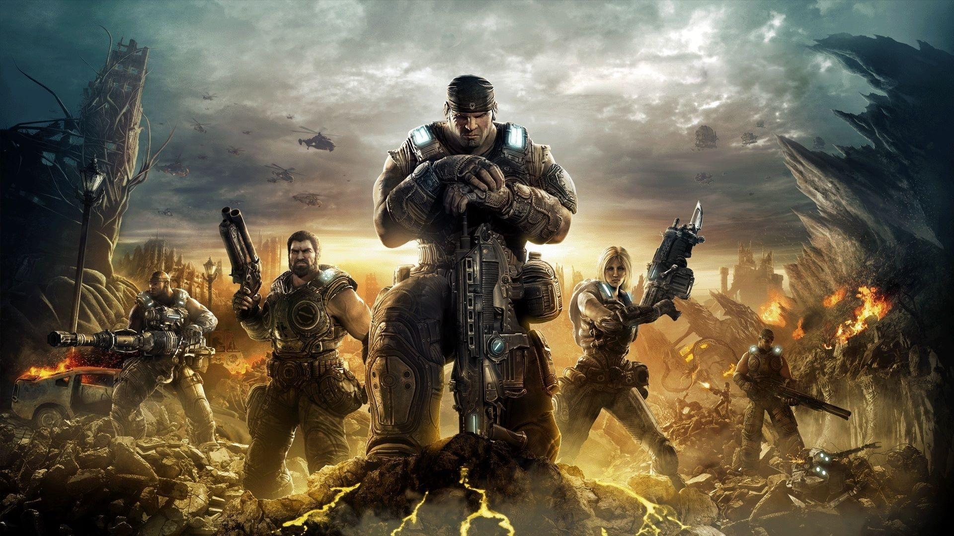 Gears Of War best wallpaper