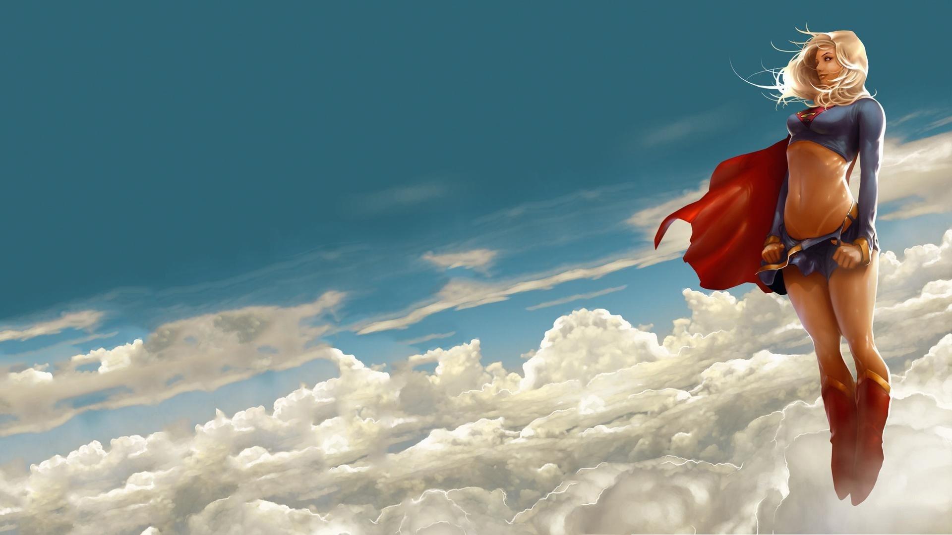 Supergirl best background