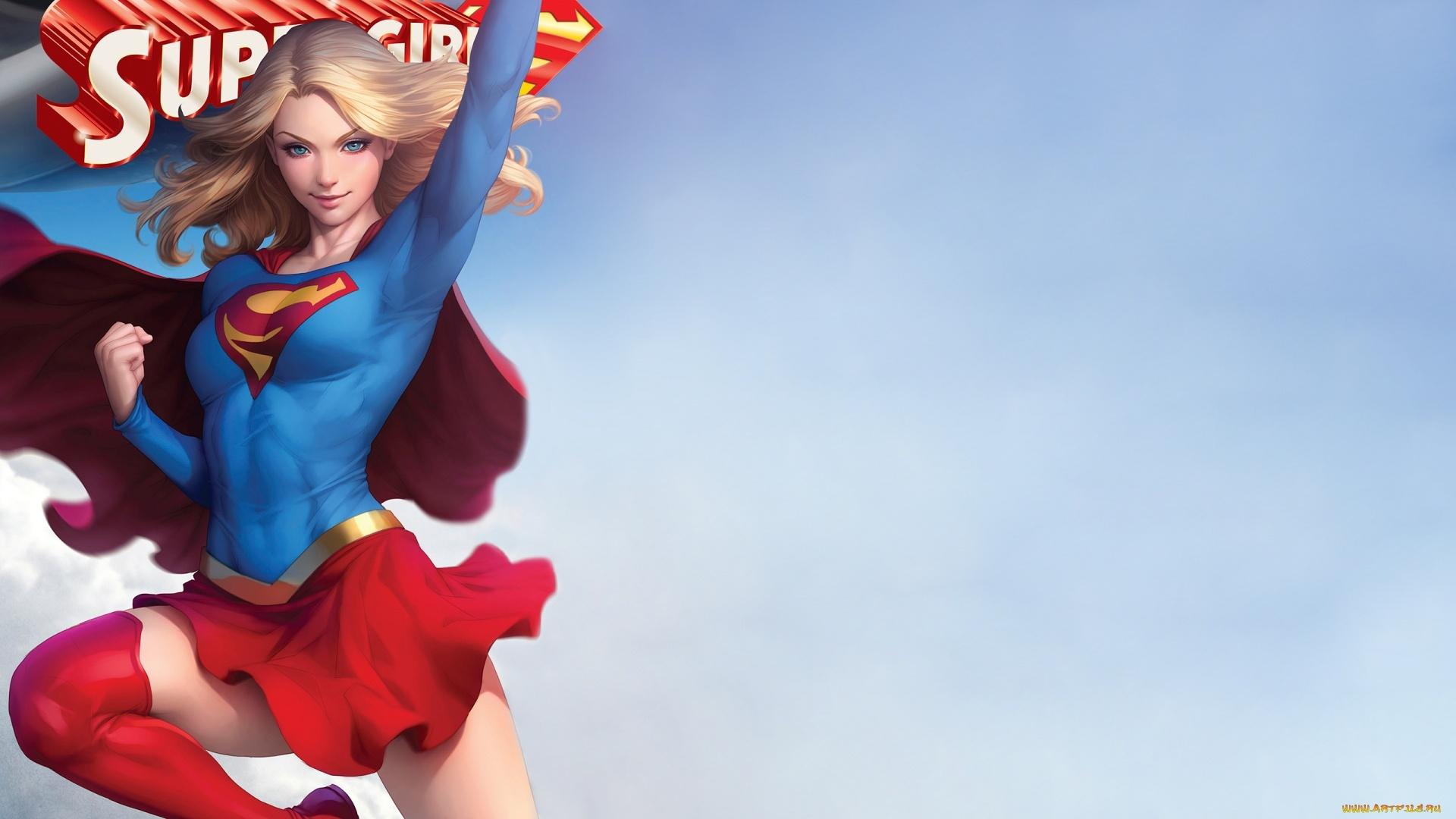 Supergirl windows wallpaper