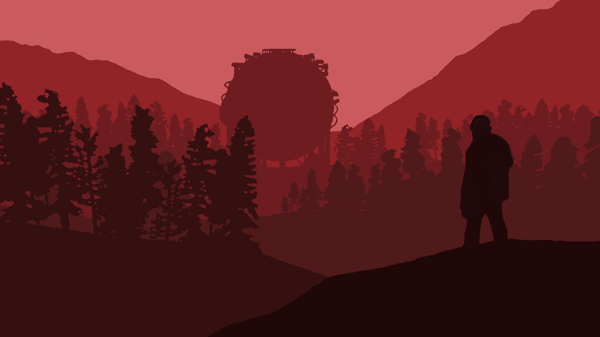 Rust desktop background