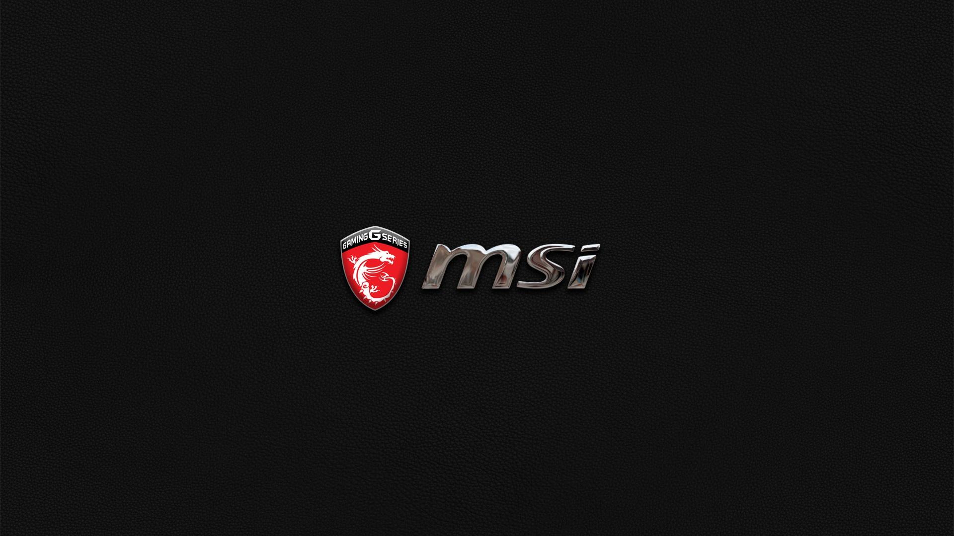 Msi desktop background