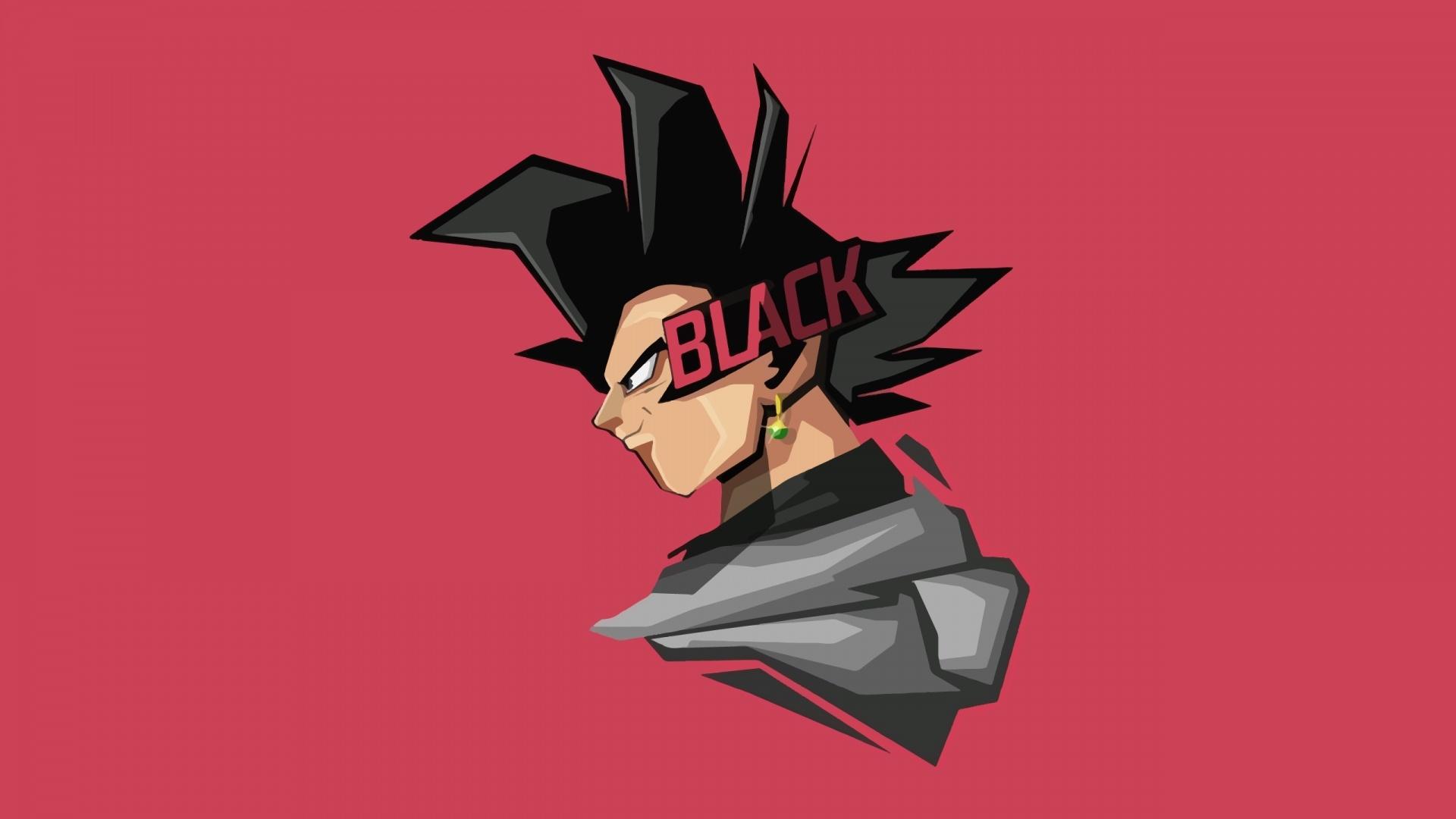 Goku Black background wallpaper