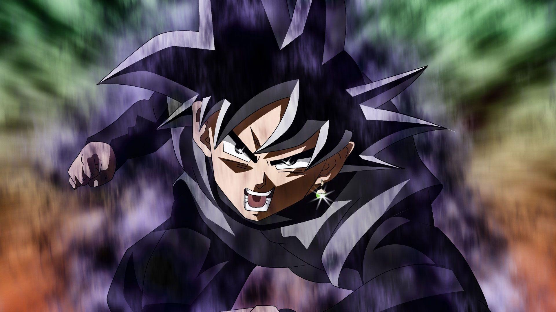 Goku Black hd background