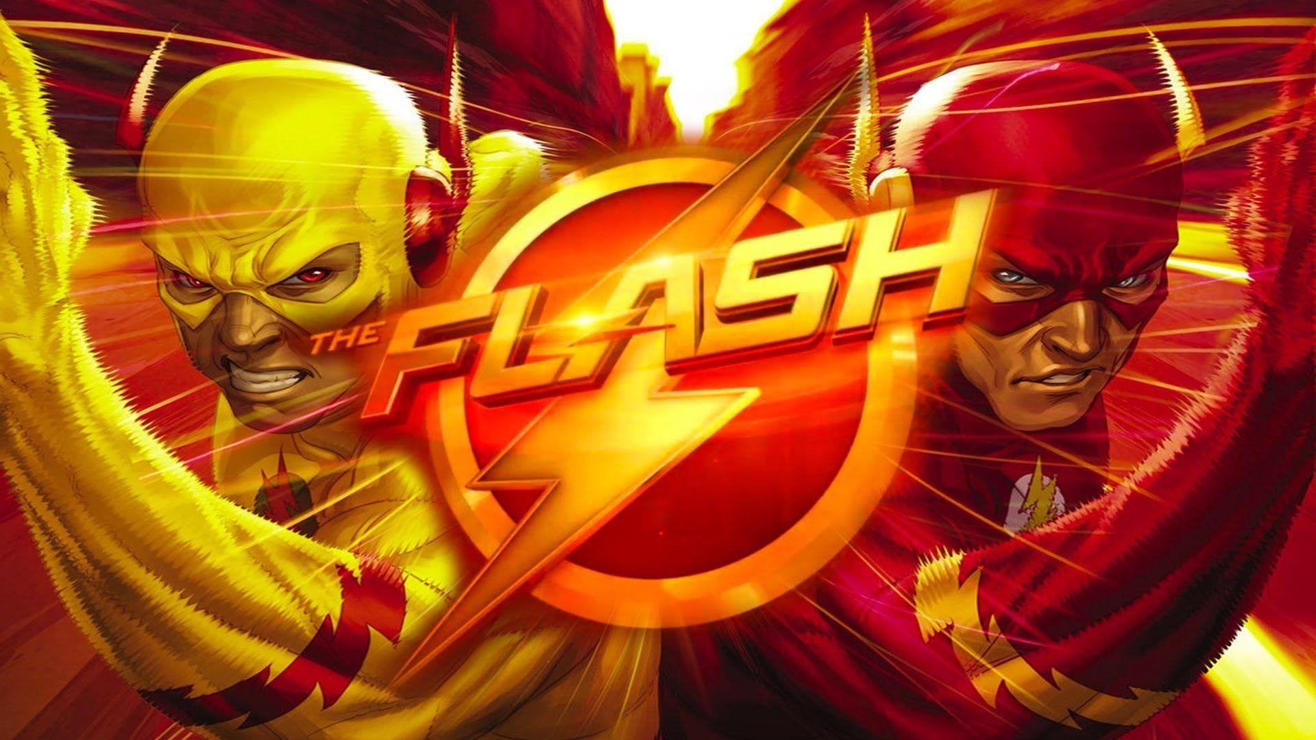 The Flash background wallpaper