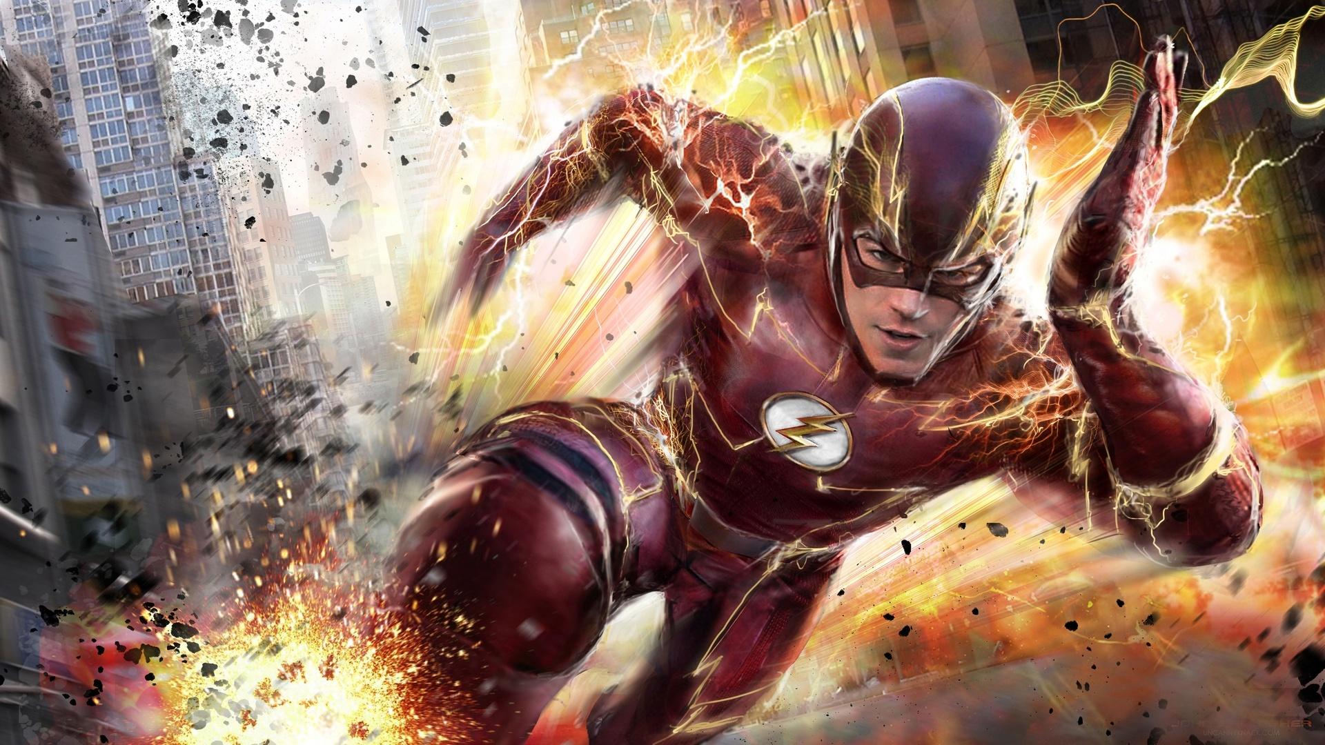 The Flash desktop wallpaper free download