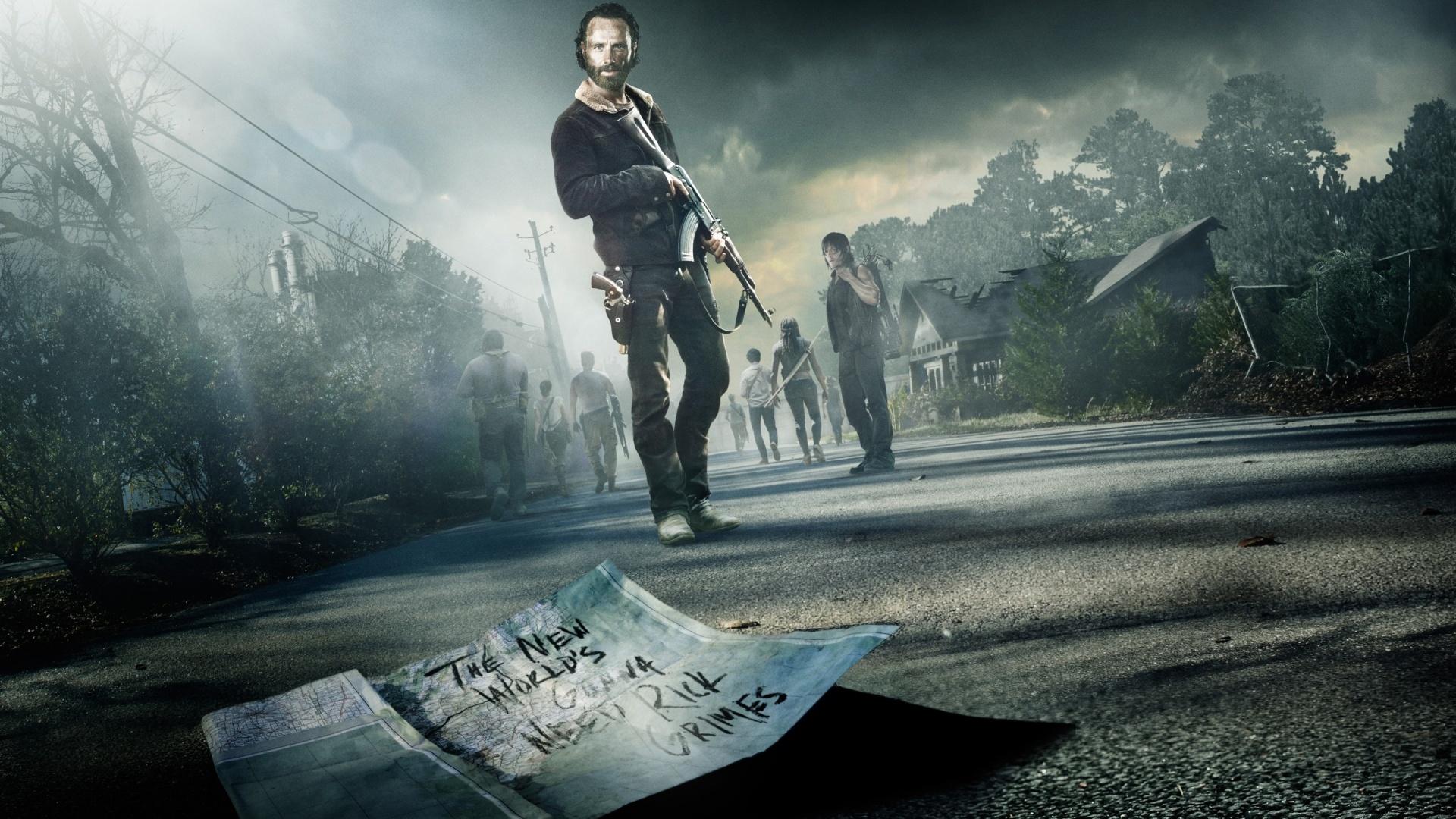 The Walking Dead free background