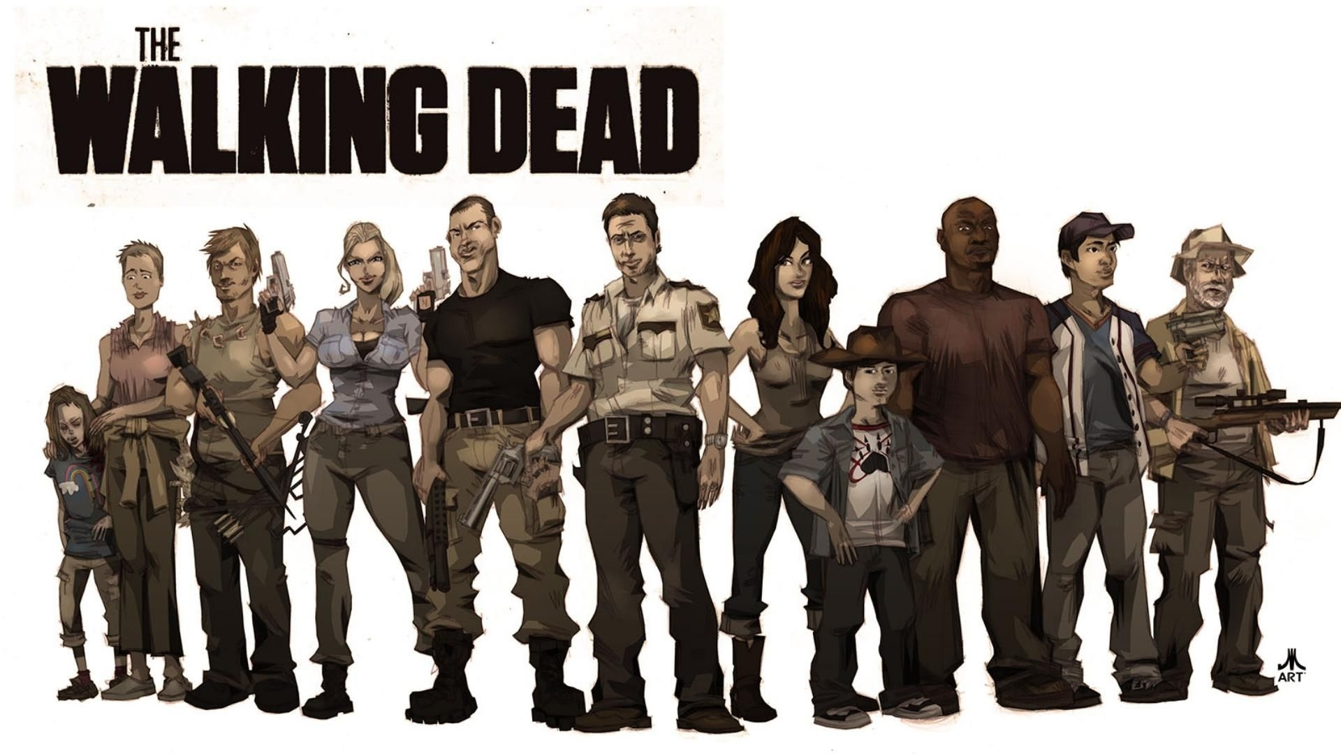 The Walking Dead background picture