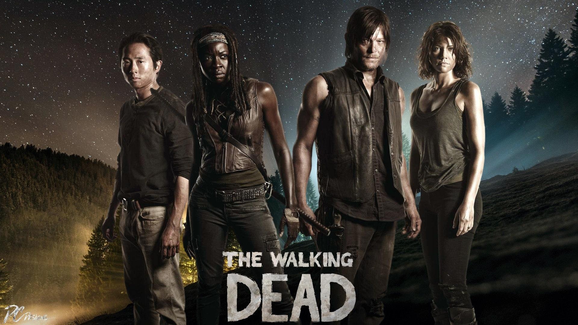 The Walking Dead background wallpaper