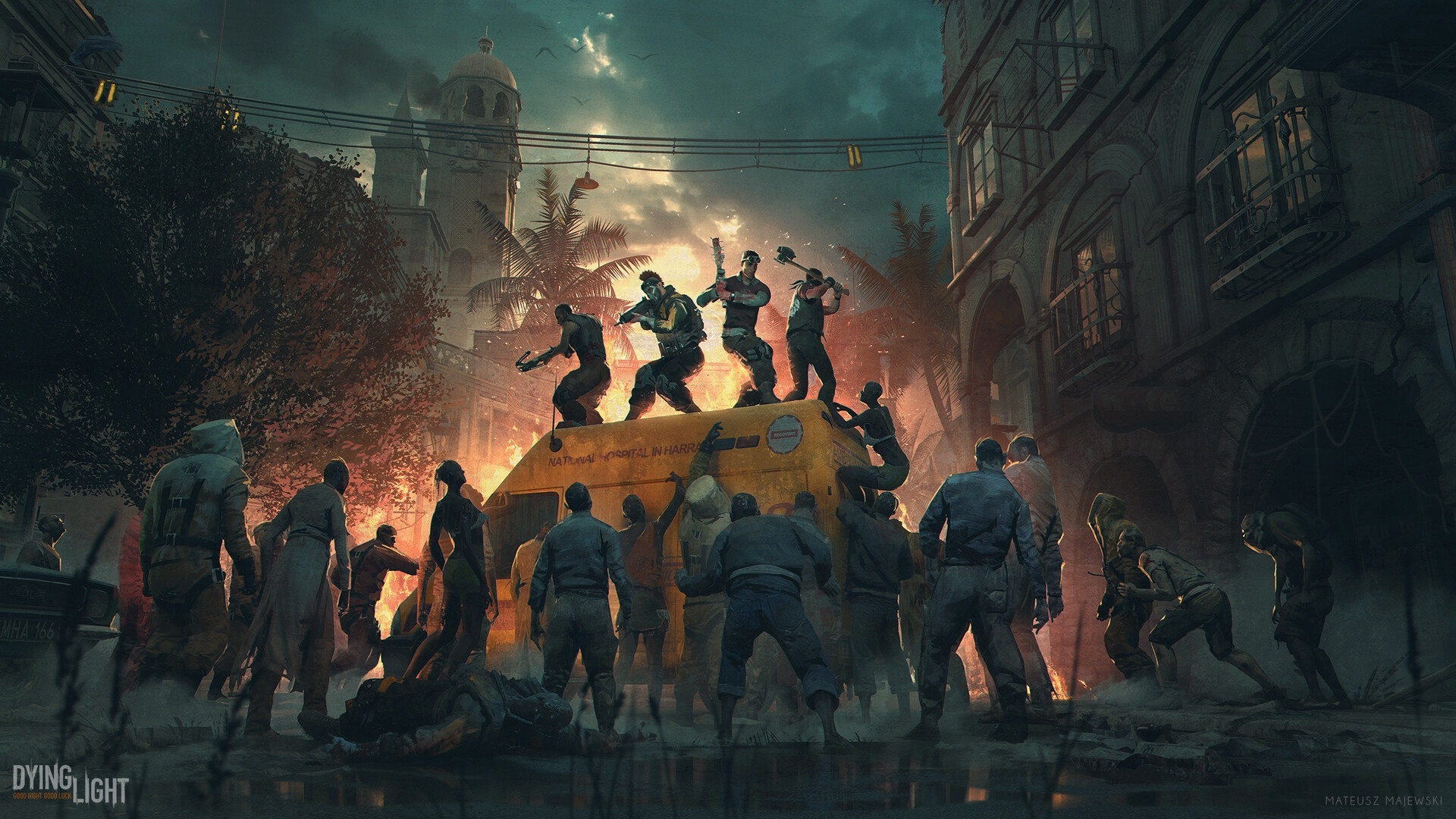 Zombie free wallpaper