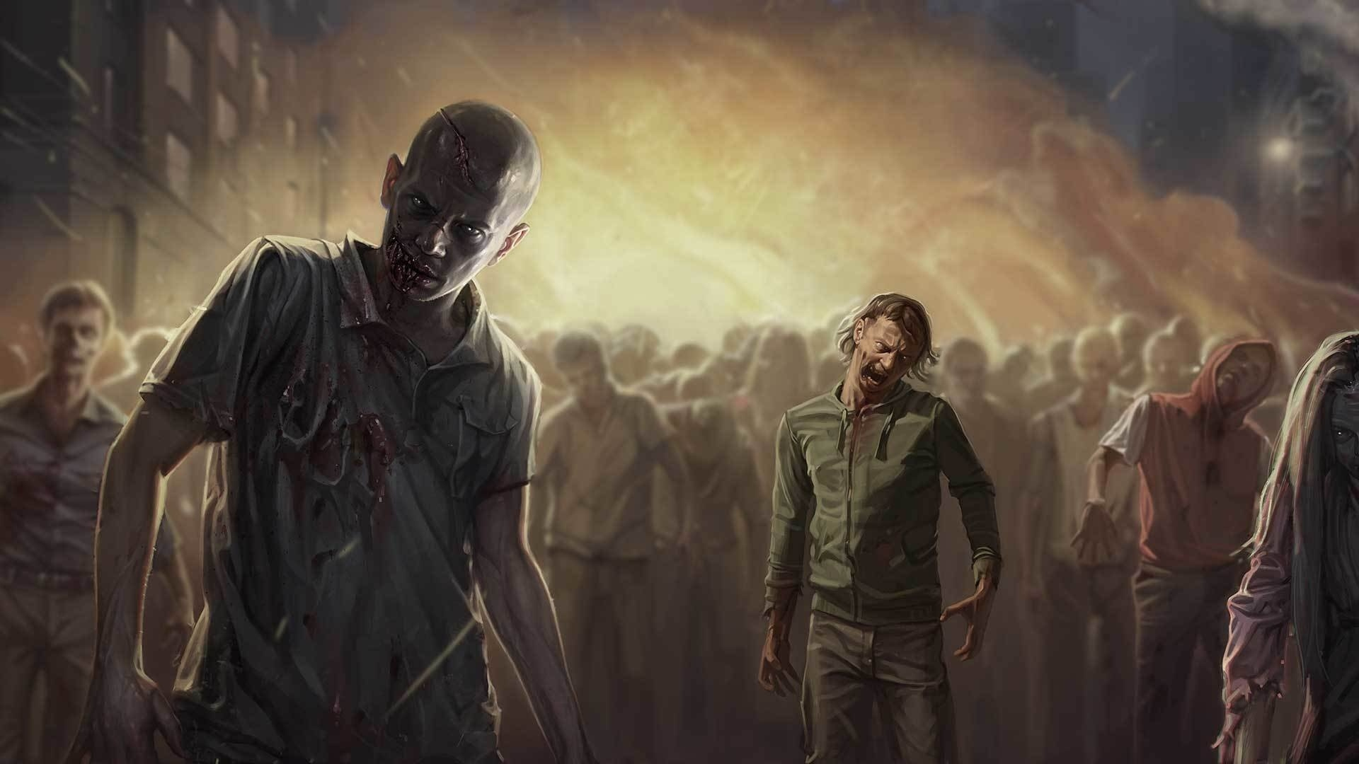 Zombie cool wallpaper