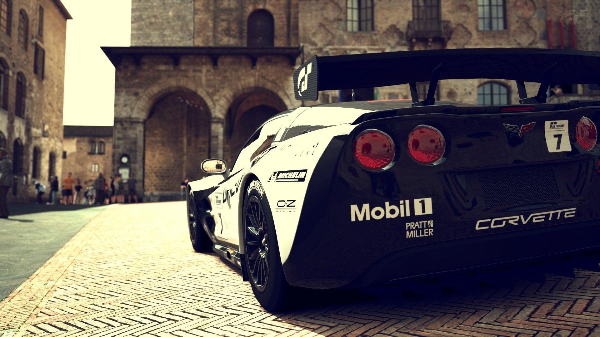 Corvette background picture