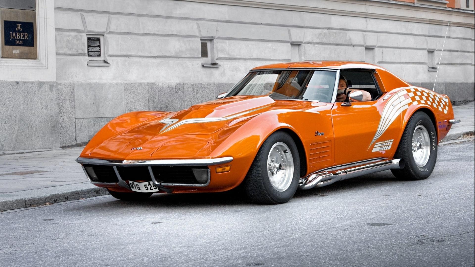 Corvette free background