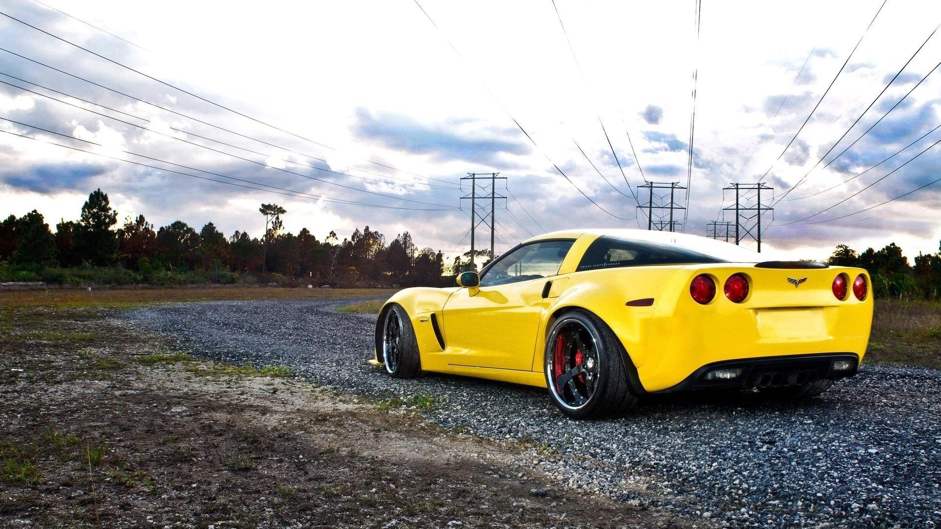 Corvette desktop background