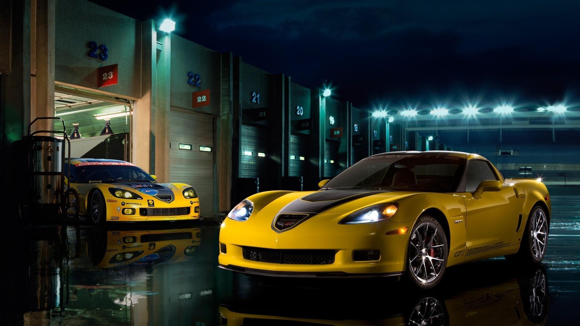 Corvette 1080p wallpaper