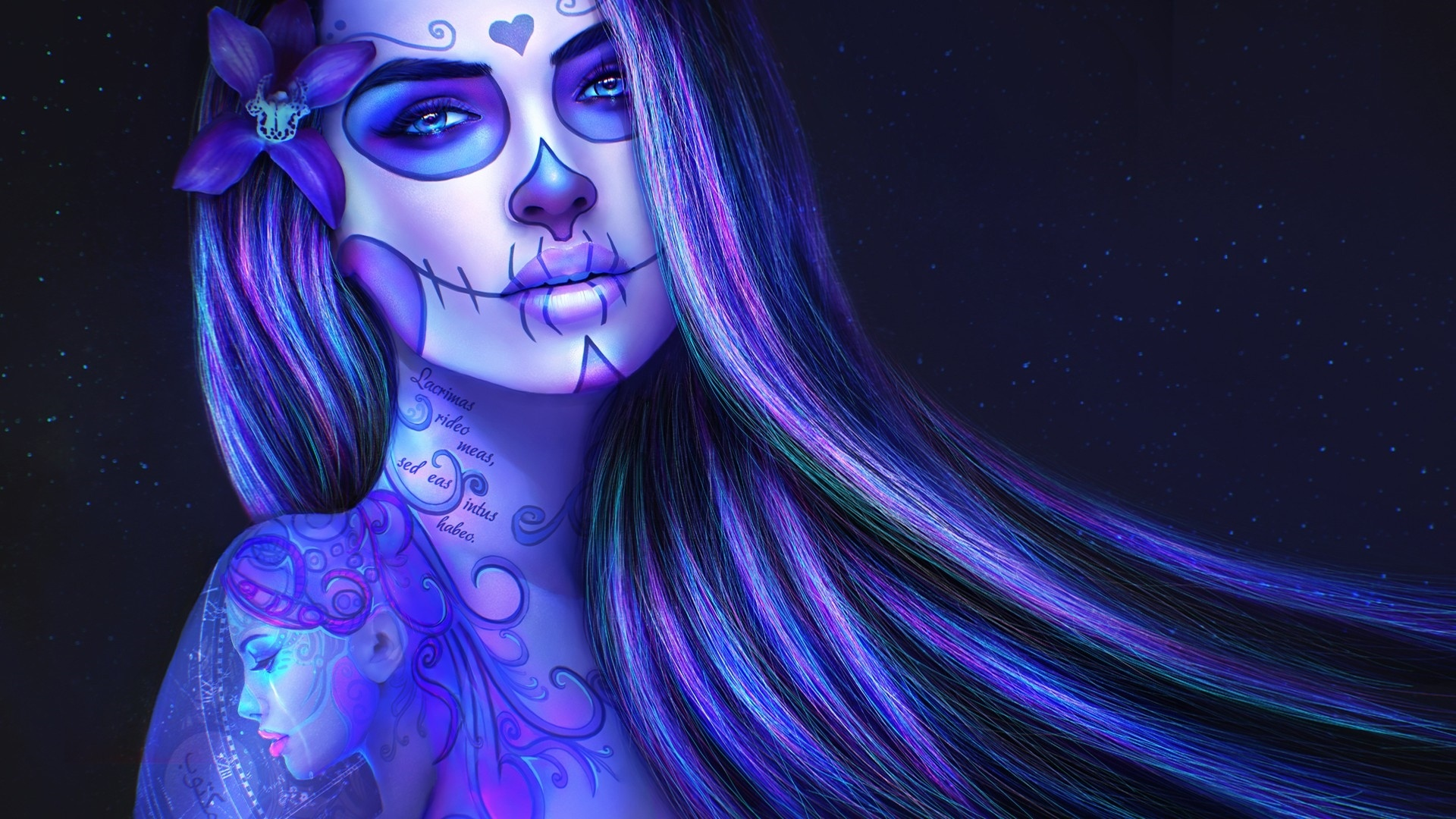 Day Of The Dead desktop background