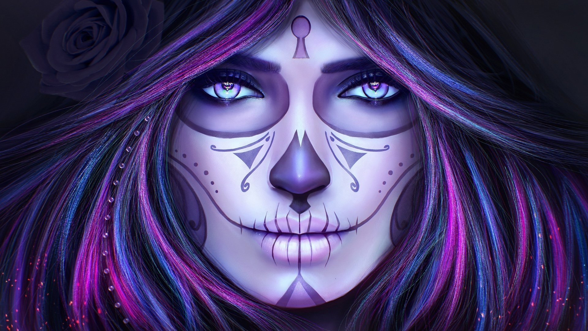 Day Of The Dead free wallpaper