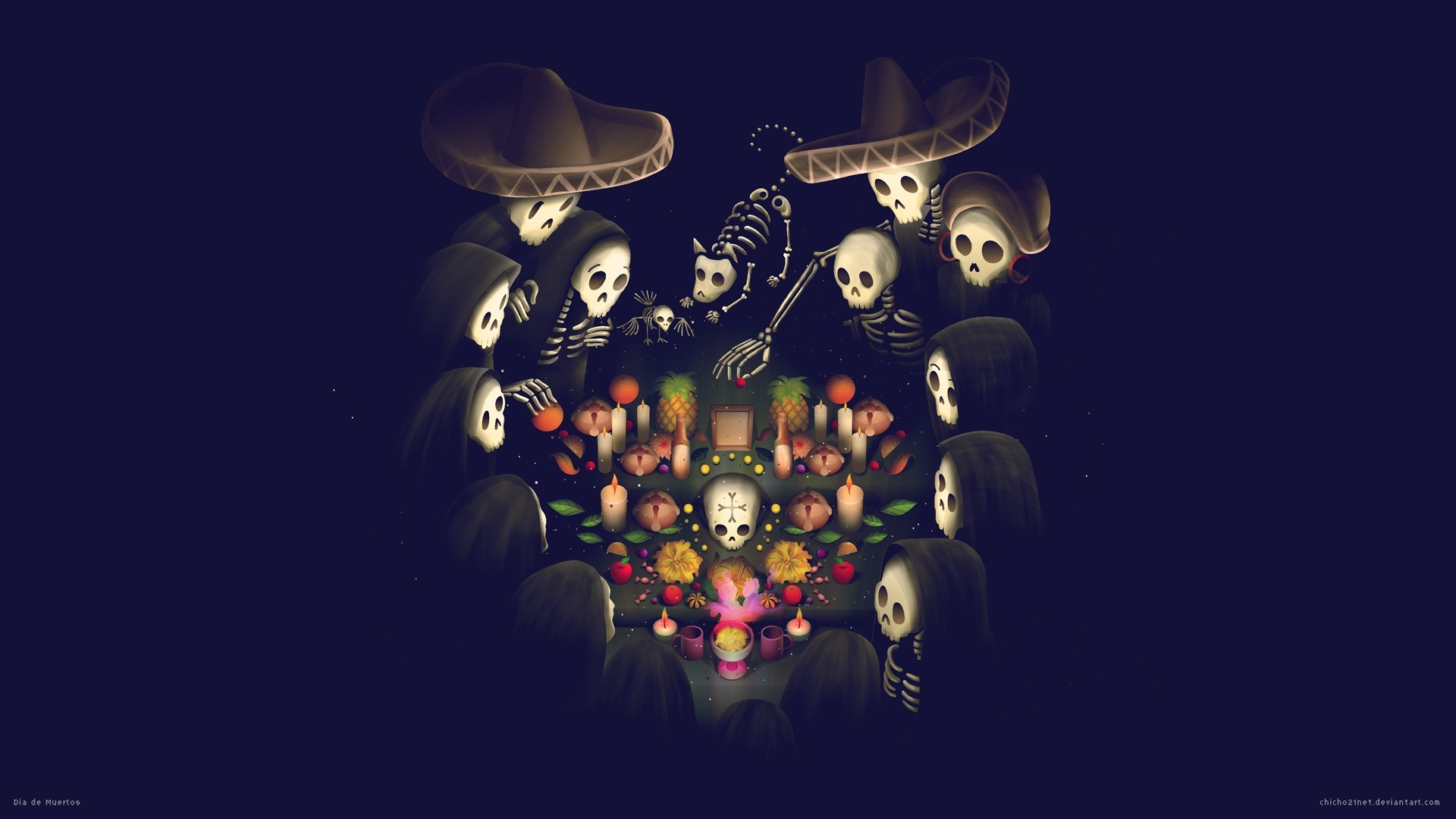 Day Of The Dead best wallpaper