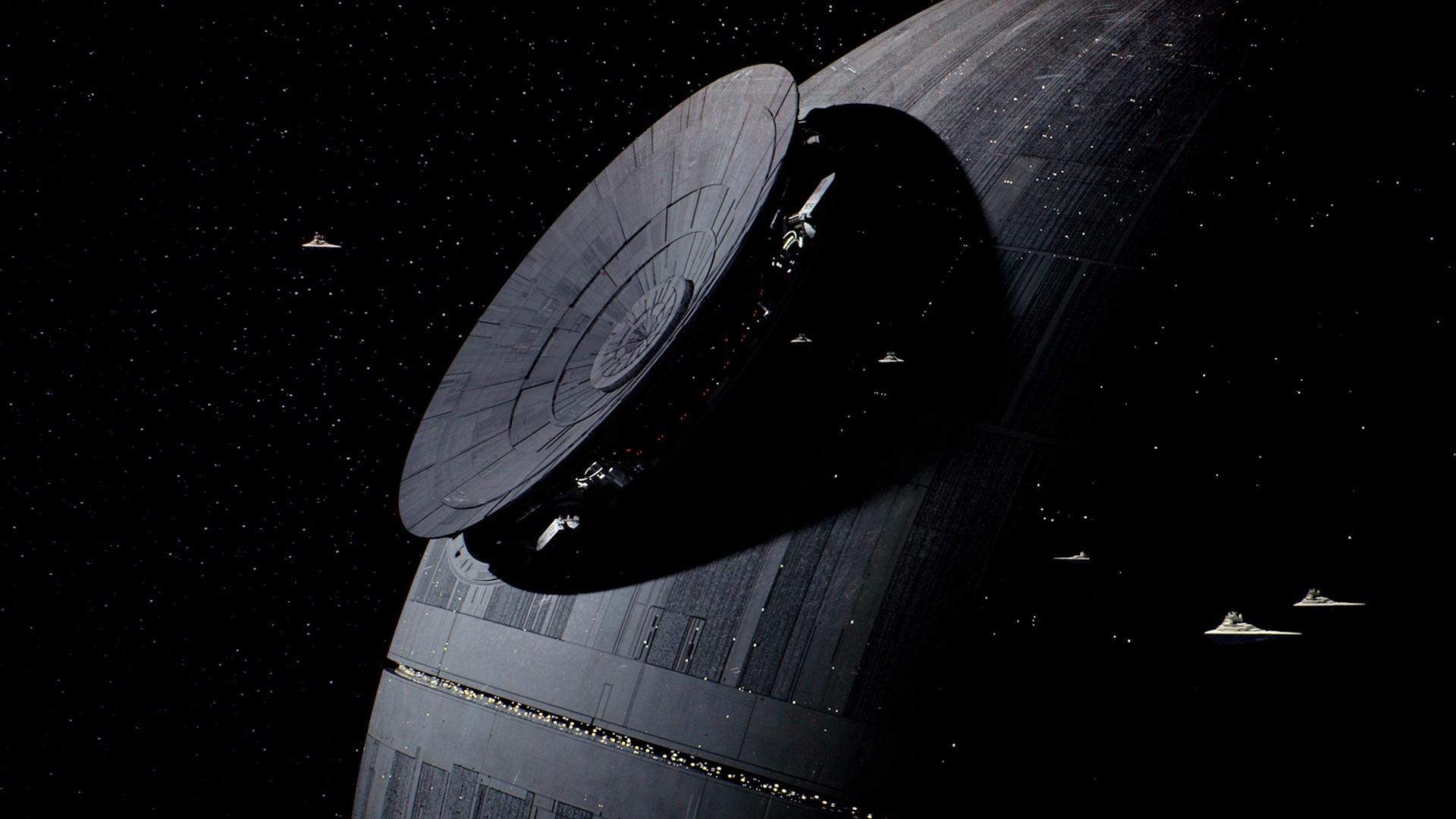 Death Star windows background