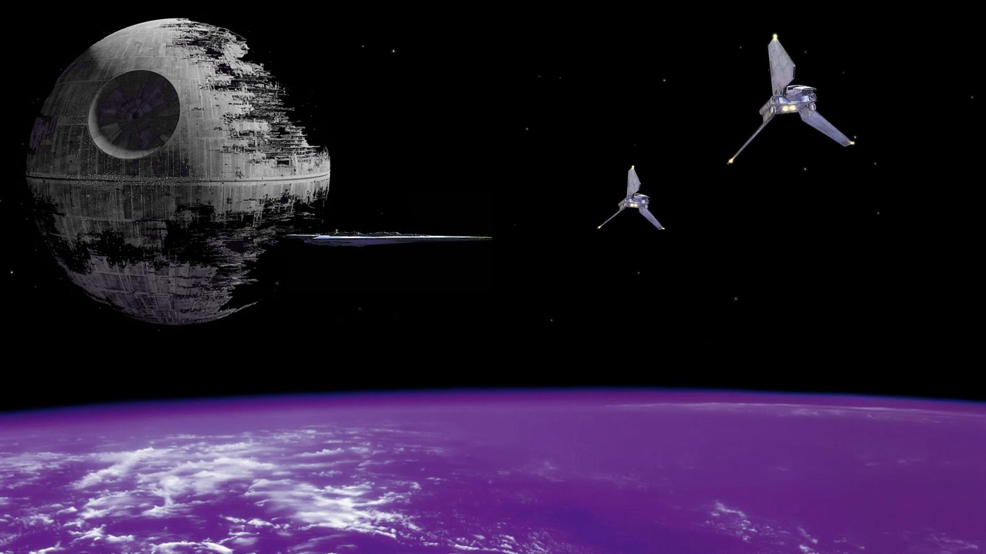 Death Star desktop wallpaper