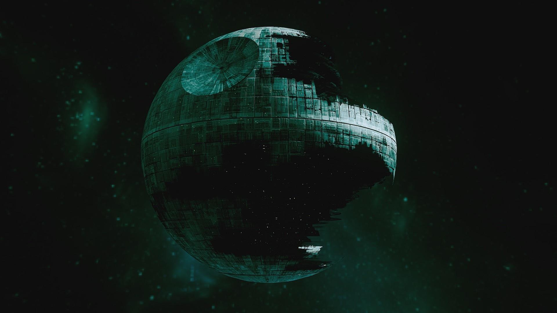 Death Star laptop wallpaper