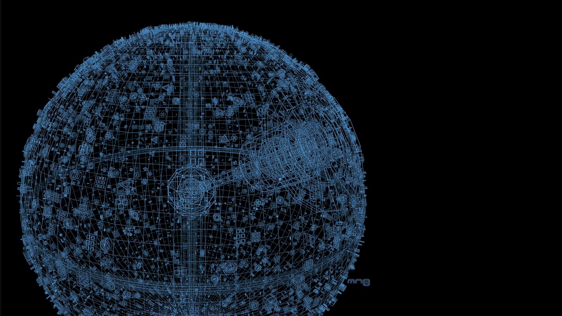 Death Star computer wallpaper
