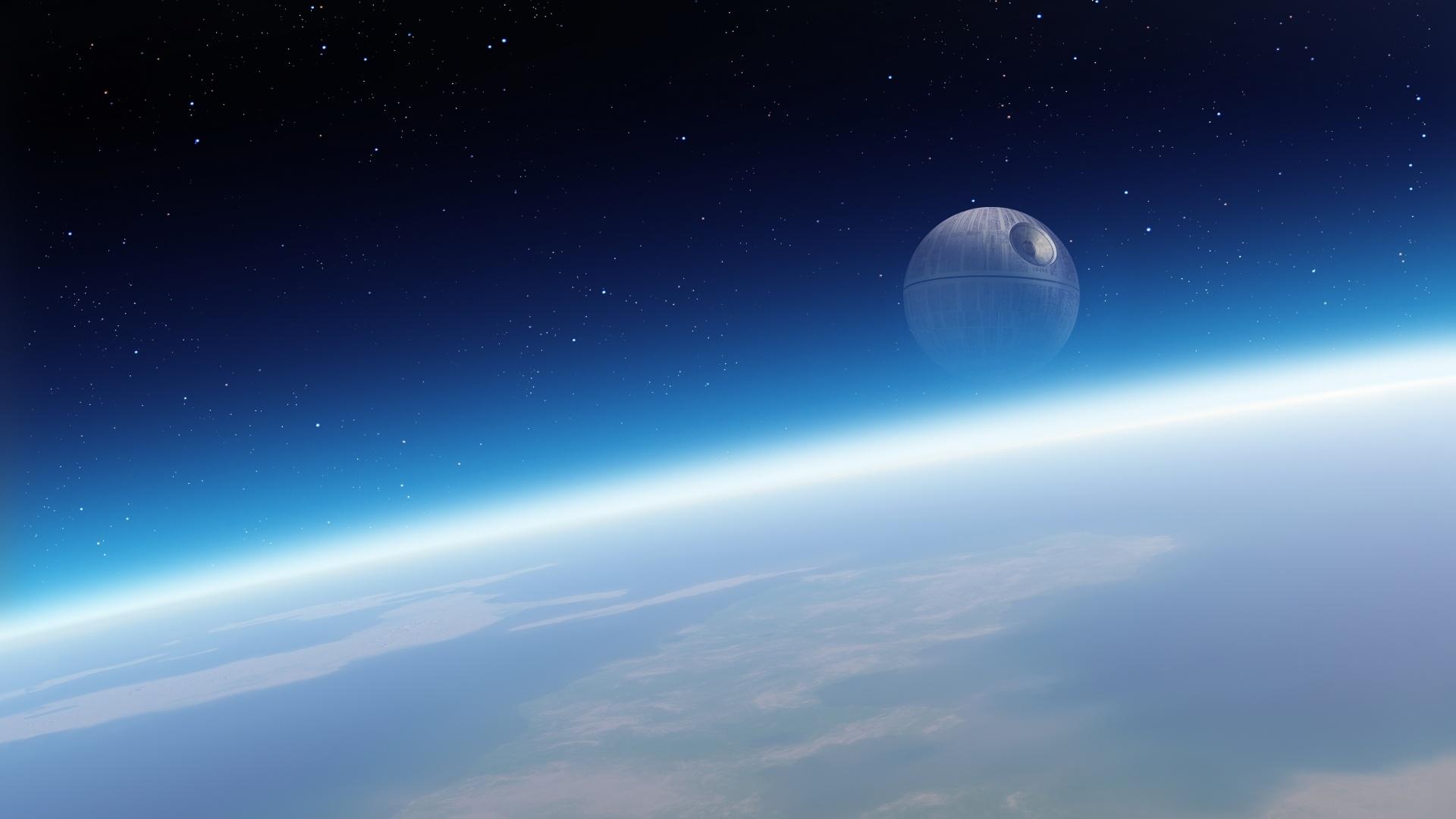 Death Star desktop wallpaper free download