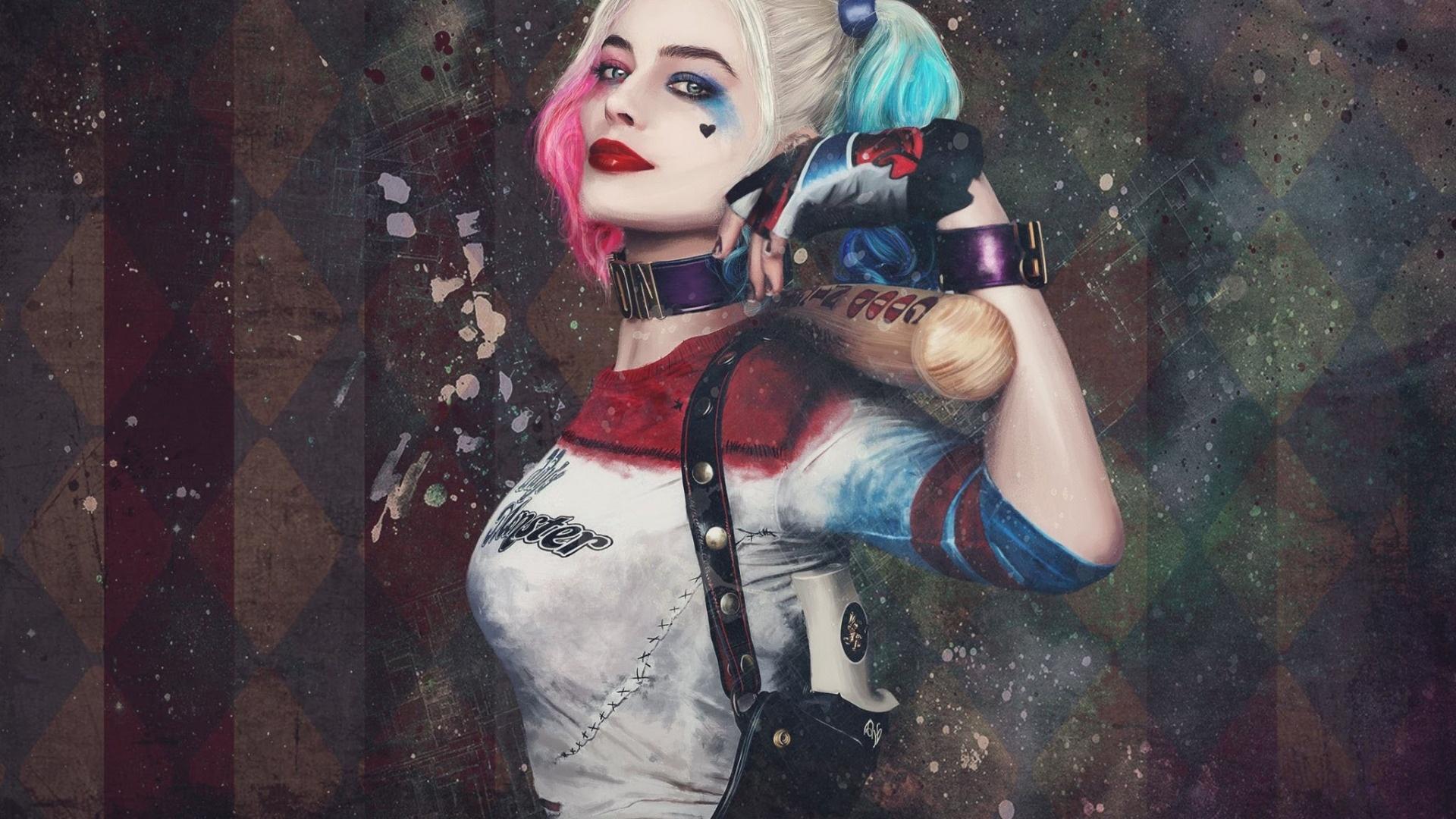 Harley Quinn desktop background