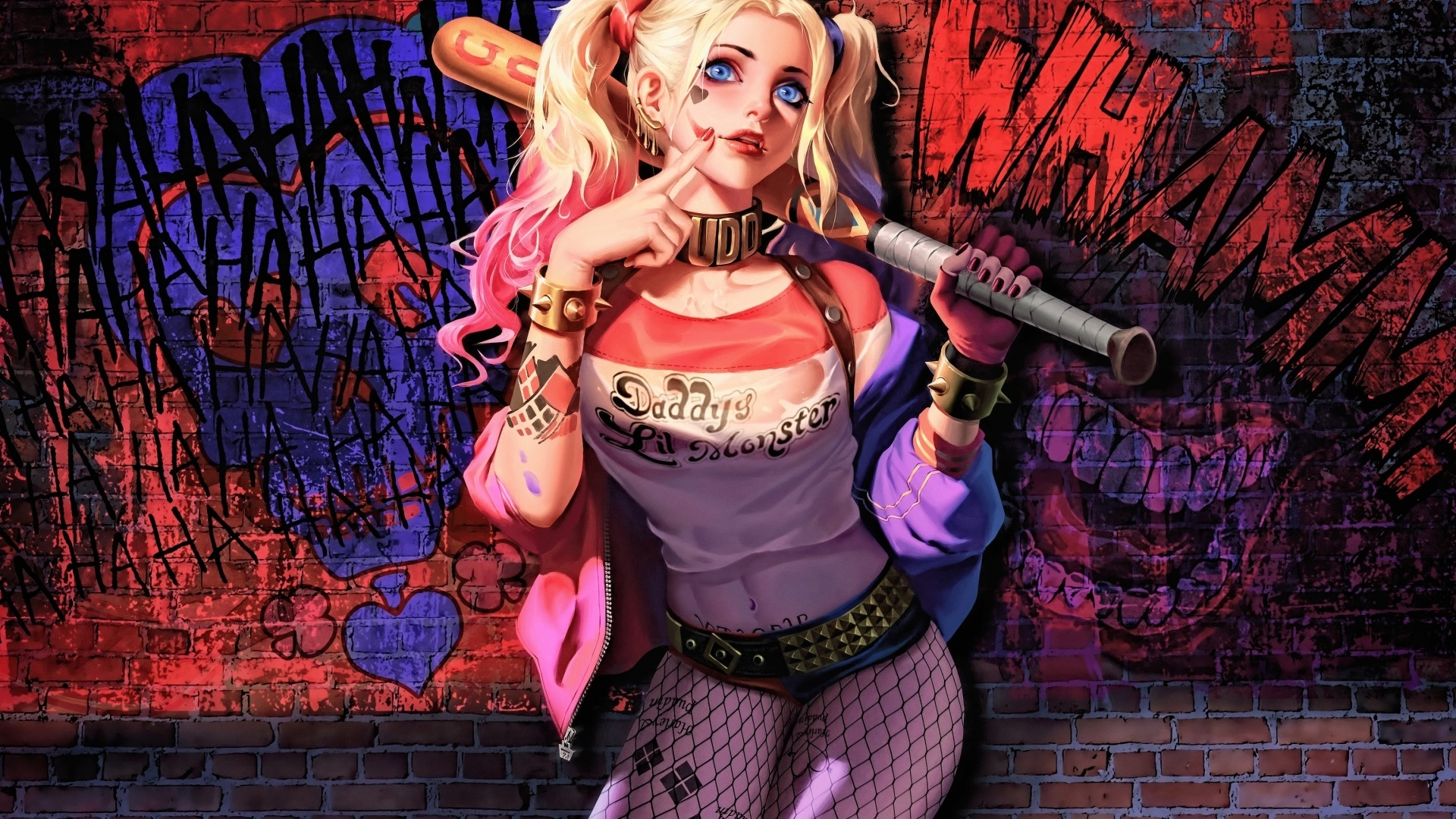Harley Quinn background picture