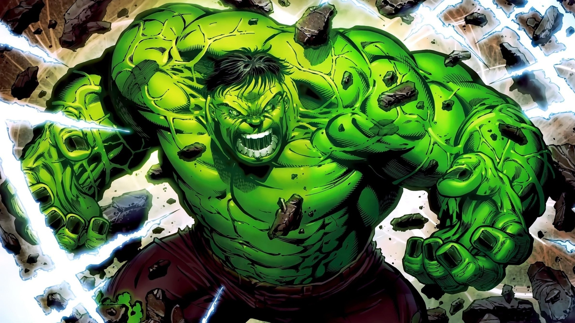 Hulk desktop background