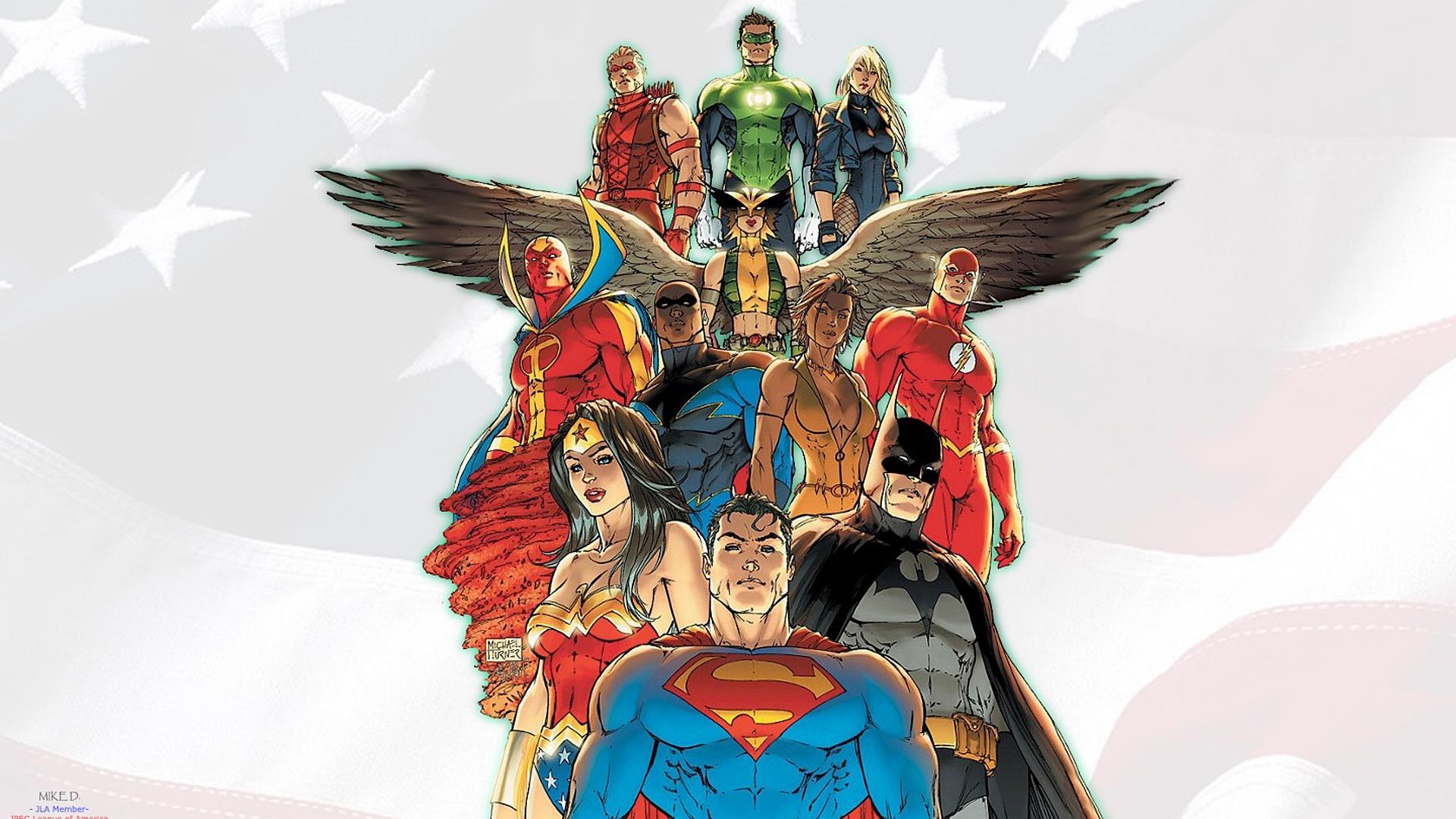 Justice League computer background