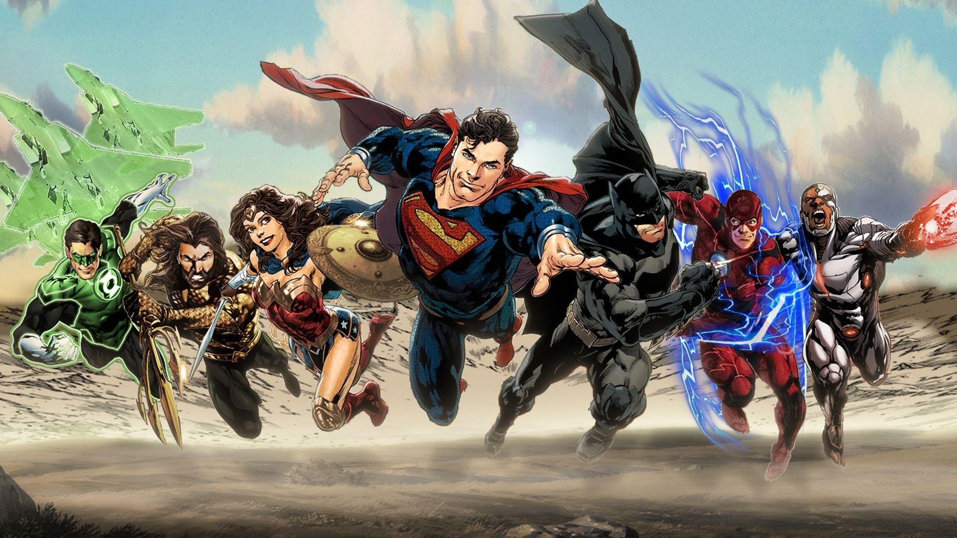 Justice League best background