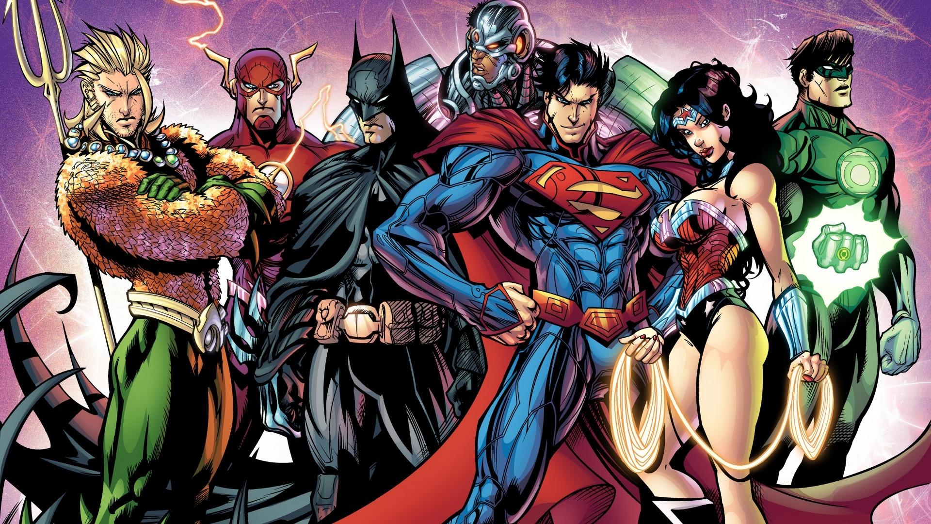 Justice League desktop wallpaper free download