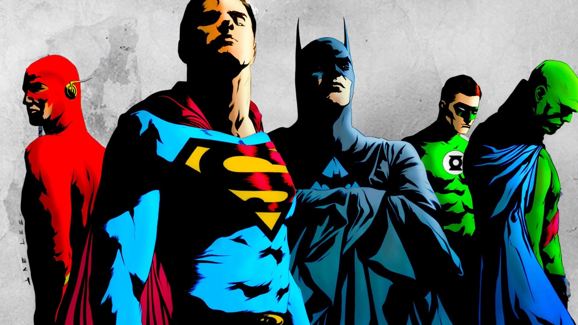 Justice League desktop background